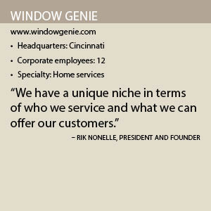 Window Genie info box