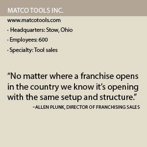 Matco Tools Inc  - Franchising Today Magazine