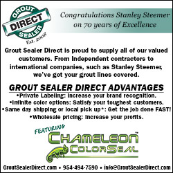 Grout Direct Sealer